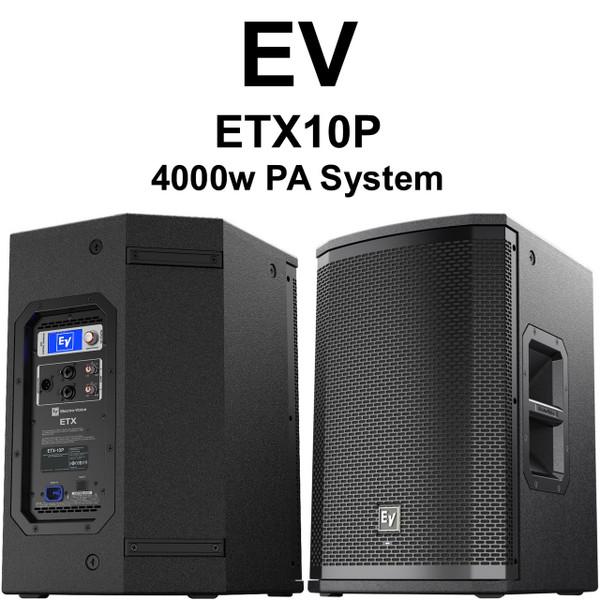 EV ETX10P 4000 Watt PA Speaker Pair $100 Instant Coupon Use Promo Code: $100-
