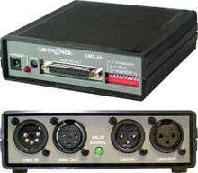 LIGHTRONICS UMX24 Protocol Translator LMX-128 or DMX-512 $30 Instant Coupon Use Promo Code: $30-OFF
