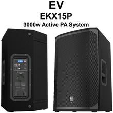 EV EKX15P 3000 Watt PA Speaker Pair $50 Instant Coupon Use Promo Code: $50-OFF