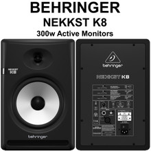 Behringer nekkst k8 (2) audiophile bi-amp active studio monitors $20 Instant Coupon use Promo Code: $20-OFF