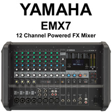 YAMAHA EMX7 12 Channel 1440w Powered FX Mixer with Feedback Suppressor $35 Instant Coupon Use Promo Code: $35-OFF