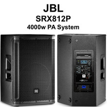 JBL SRX812p active 4000w pa system speaker pair $100 Instant Coupon use Promo Code: $100-OFF