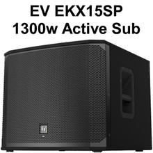 EV EKX15SP 1300 Watt Active Sub $25 Instant Coupon Use Promo Code: $25-OFF