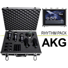 AKG RHYTHM PACK 6 Classic Drumkit Mics with Aluminum Carry Case $35 Instant Coupon use Promo Code: $35-OFF