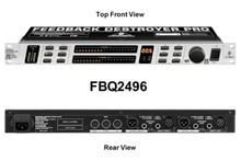 BEHRINGER FBQ2496 Automatic Feedback Suppressor $20 Instant Coupon Use Promo Code: $20-OFF