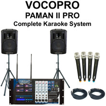 VOCOPRO PAMAN II PRO Complete Wireless Karaoke System $50 Instant Coupon Use Promo Code: $50-OFF
