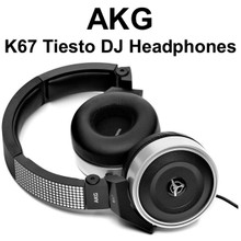 AKG K67 TIESTO Professional High Performance Supra Aural DJ Headphones $5 Instant Coupon use Promo Code: $5-OFF