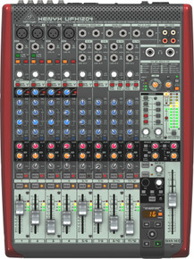 BEHRINGER XENYX UFX1204 12 Input USB Firewire Audio Recording Mixer $10 Instant Coupon Use Promo Code: $10-OFF