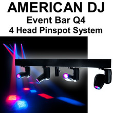 American DJ EVent bar q4 4 head Pinspot system $40 Instant Coupon use Promo Code: $40-OFF
