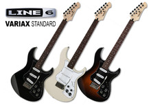 Line 6 Variax Standard In Black, White Or Sunburst Guitar With Workbench HD Software $40 Instant Coupon Use Promo Code: $40-Off