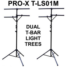 Pro-X T-LS01M Black 12' Dual Tier Light Stands $10 Instant Coupon Use Promo Code: $10-Off