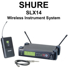 Shure SLX14 Versatile Instrument/Mic Wireless System $20 Instant Coupon Use Promo Code: $20-Off