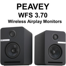 Peavey WFS 3.70 Active Wireless Airplay Monitors $10 Instant Off Use Promo Code: $10-Off