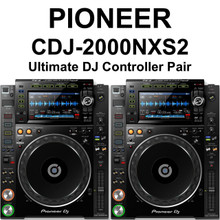 PIONEER CDJ-2000NXS2 Ultimate Professional Pair of Controller Decks with Rekordbox Software Ready $100 Instant Coupon Use Promo Code: $100-OFF
