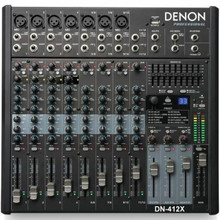 DENON DN-412X 12 Channel FX USB Audio Mixer $15 Instant Coupon Use Promo Code: $15-OFF