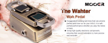 Mooer The Wahter A Mini Series Version Of The Classic Wah-Wah Pedal $10 Instant Coupon Use Promo Code: $10-Off