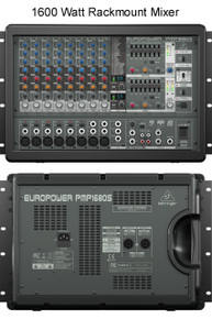 BEHRINGER PMP1680S 10 Channel 1600w Powered Mixer $30 Instant Coupon Use Promo Code: $30-Off
