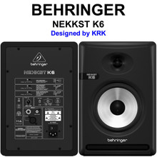Behringer Nekkst K6 (2) Audiophile Bi-Amp Active Studio Monitors $20 Instant Coupon Use Promo Code: $20-Off