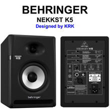 Behringer Nekkst K5 (2) Audiophile Bi-Amp Active Studio Monitors $20 Instant Coupon Use Promo Code: $20-Off