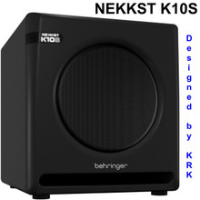 Behringer Nekkst K10s Audiophile 300w Active Studio Monitor Sub $20 Instant Coupon Use Promo Code: $5-Off