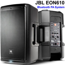 JBL EON610 Active 2000w Bluetooth PA System Speaker Pair $25 Instant Coupon Use Promo Code: $25-OFF