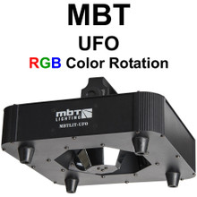 MBTLIT-UFO LED RGB Centerpiece Color Rotating Up or Down FX Lighting Fixture $10 Instant Coupon Use Promo Code: $10-OFF