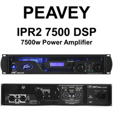 PEAVEY IPR2 7500 DSP Lightweight Quality Rackmount Amplifier $60 Instant Coupon Use Promo Code: $60-OFF
