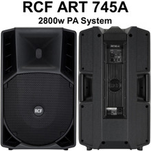 RCF Art 745-A 2800w Active Pa System $300 Instant Coupon Use Promo Code: $300-Off