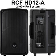RCF HD12-A 2400w Active PA System $200 Instant Coupon Use Promo Code: $200-OFF