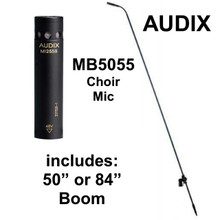 "AUDIX MB5055 Choir Mic with MB1255B Cardioid Capsule and 50"" or 84"" Boom $25 Instant Coupon Use Promo Code: $25-OFF"