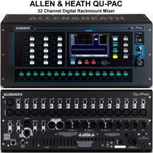 ALLEN & HEATH QU-PAC Rackmount Digital Touchscreen Audio Mixer