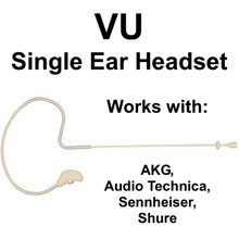 Vu Hm2000 Single Ear Affordable Headset Mic For Akg, Audio Technica, Sennheiser Or Shure $10 Instant Coupon Use Promo Code: $10-Off