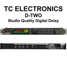 TC Electronics D-Two Multitap Rhythm Delay Processor $50 Instant Off Use Promo Code: $50-Off