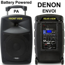 DENON ENVOI Portable Battery Powered PA System $20 Instant Coupon Use Promo Code: $20-OFF