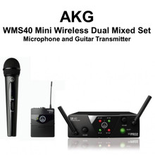 AKG WMS40 Mini Dual Receiver with Mic and Guitar Transmitter $10 Instant Coupon Use Promo Code: $10-OFF