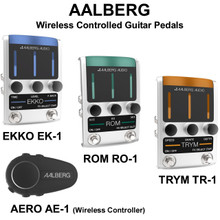 Aalberg Wireless Controlled Guitar Stomp Boxes With Controller $50 Instant Coupon Use Promo Code: $50-Off
