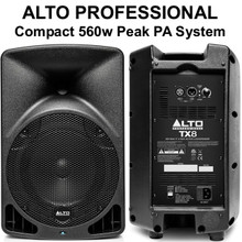 ALTO PROFESSIONAL TX8 560w Total Peak Power Compact Lightweight PA System $10 Instant Coupon Use Promo Code: $10-OFF