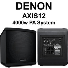 DENON AXIS 12 4000w Peak DSP Coaxial Pa System $100 Instant Coupon Use Promo Code: $100-OFF