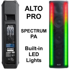 ALTO PROFESSIONAL SPECTRUM PA System with Built-in LED Light FX $50 Instant Coupon Use Promo Code: $50-OFF
