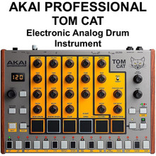 AKAI PROFESSIONAL TOM CAT Electronic Analog Drum Instrument $10 Instant Coupon Use Promo Code: $10-OFF
