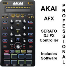 AKAI PROFESSIONAL AFX Serato DJ Controller with Backpack FX Expansion Software $20 Instant Coupon Use Promo Code: $20-OFF