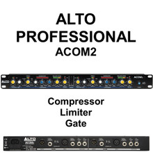 Alto Professional Acom2 Compressor Limiter Gate Processor $10 Instant Coupon Use Promo Code: $10-Off