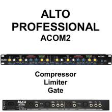 Alto Professional Acom2 Compressor Limiter Gate Processor $10 Instant Coupon Use Promo Code: $10-Off
