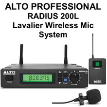 Alto Professional Radius 200L Wireless Lavalier Mic System $15 Instant Coupon Use Promo Code: $15-Off