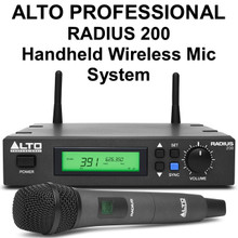 Alto Professional Radius 200 Wireless Handheld Mic System $15 Instant Coupon Use Promo Code: $15-Off