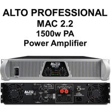 Alto Professional Mac 2.2 1500w Power Amplifier $10 Instant Coupon Use Promo Code: $10-Off