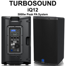 TURBOSOUND IQ12 5000w Peak Active PA System Pair Pair with Klark Teknik DSP $50 Instant Coupon Use Promo Code: $50-OFF