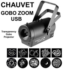CHAUVET GOBO ZOOM USB LED Transparency Projector $15 Instant Coupon Use Promo Code: $15-OFF