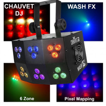 CHAUVET DJ WASH FX 6 Zone Pixel Mapping Light $5 Instant Coupon Use Promo Code: $5-OFF