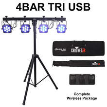 CHAUVET 4AR TRI USB DMX Complete Wireless Light System $15 Instant Coupon Use Promo Code: $15-OFF